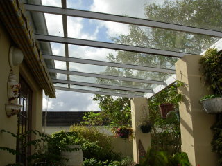 Pergola glass roof crowdbuild for - Glas pergola ...